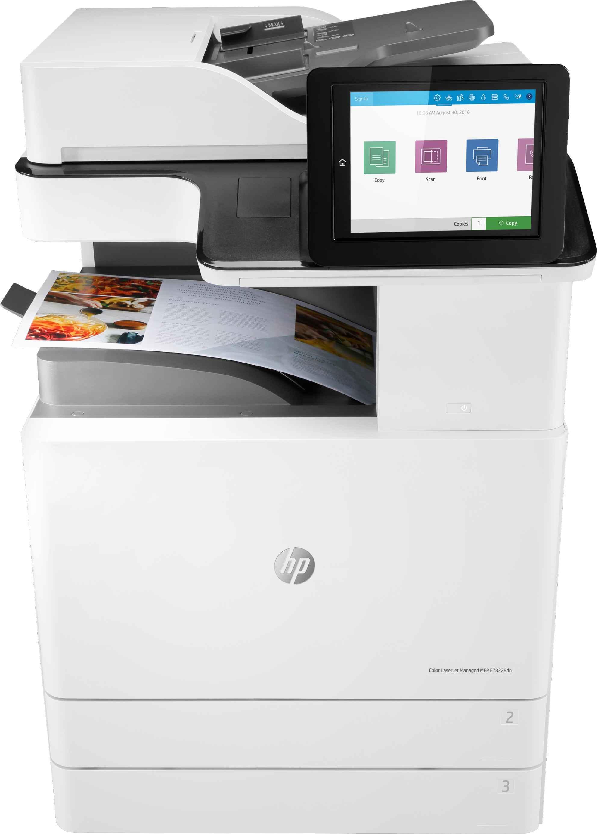 Impresora multifunción HP LaserJet Pro E78228DN