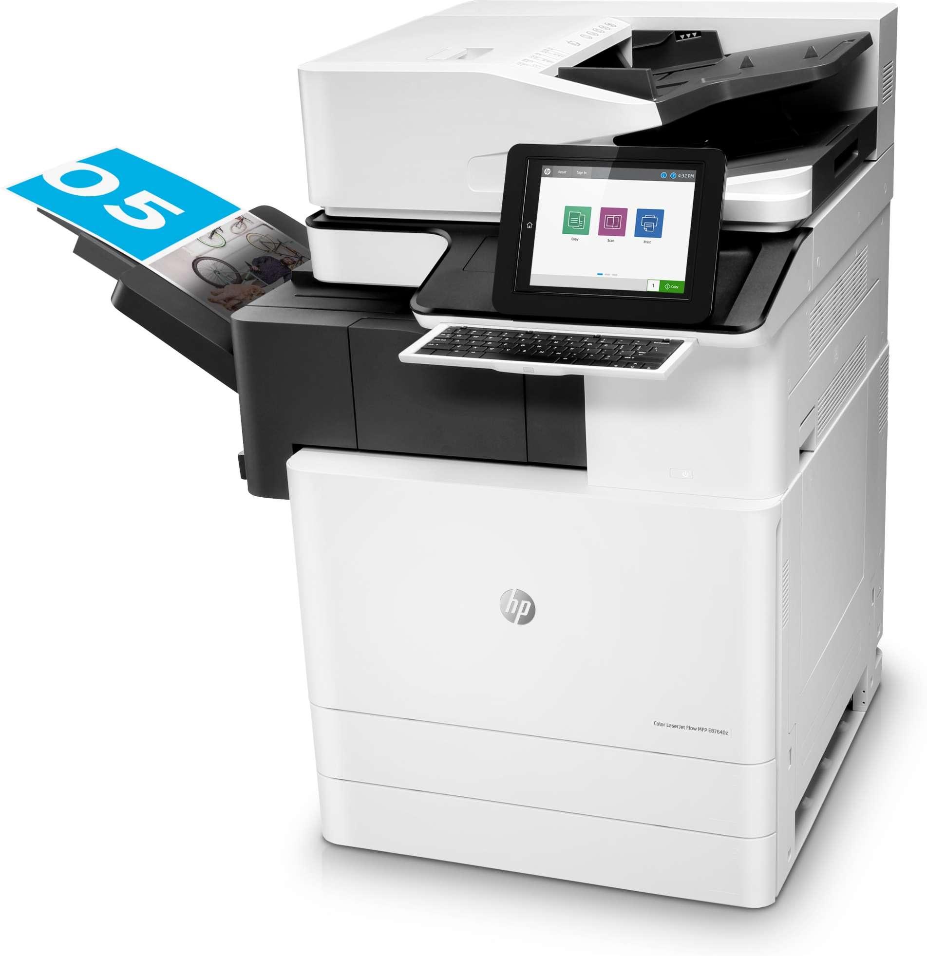 Impresora multifuncional HP LaserJet Managed E87650