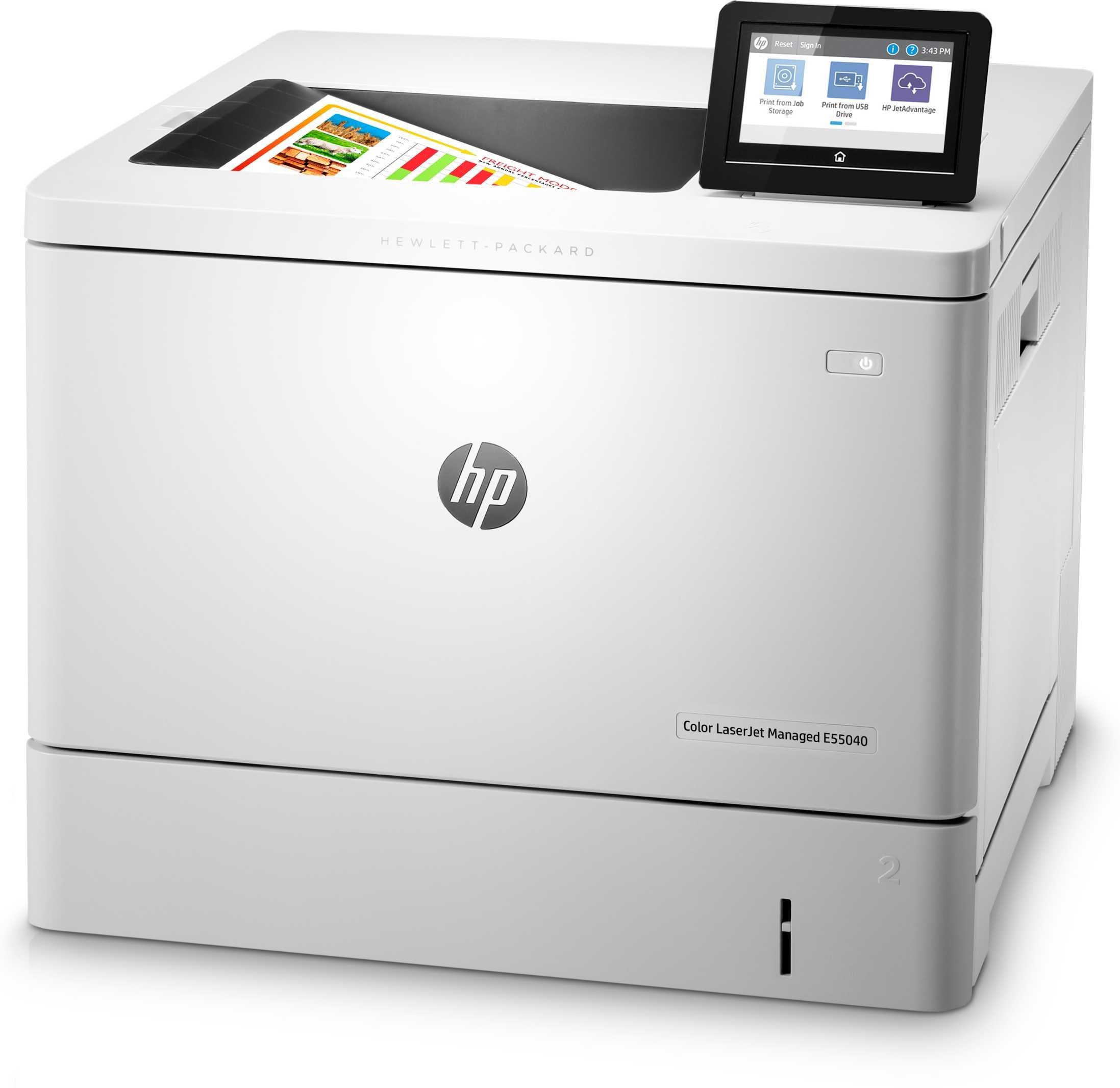 Impresora HP LaserJet Managed Color E55040DN_2