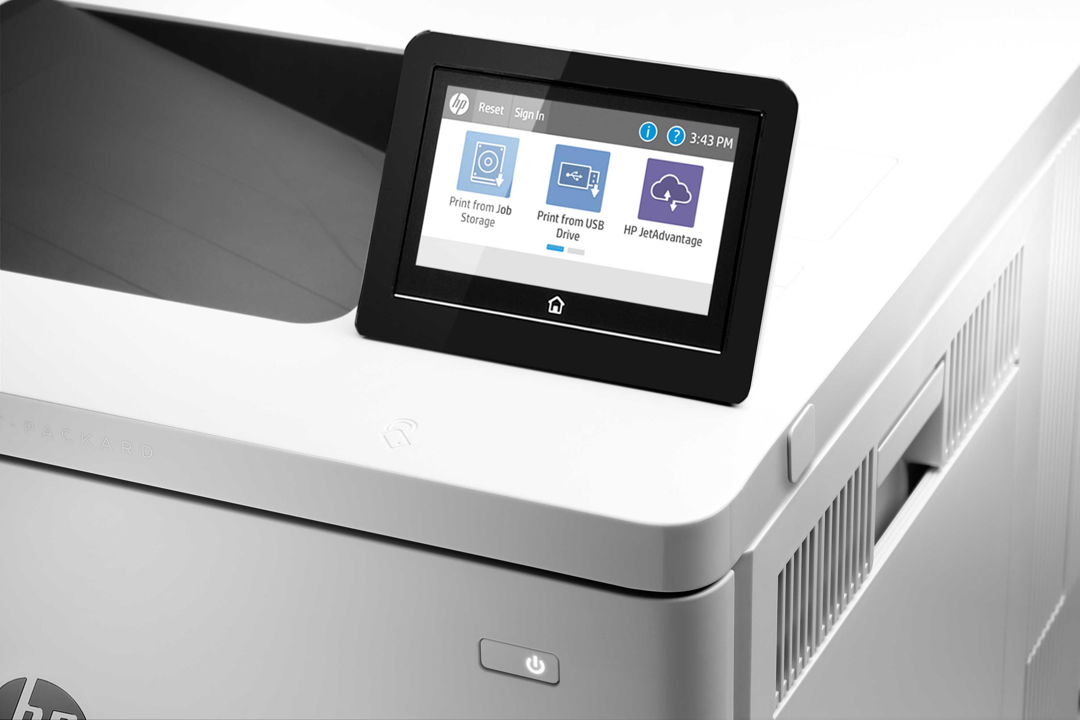 Impresora HP LaserJet Managed Color E55040DN_3