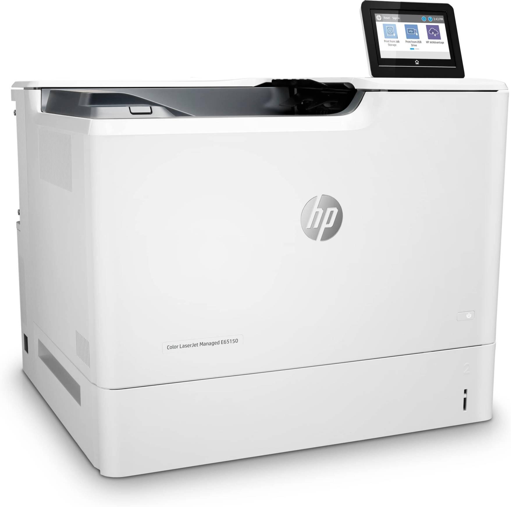 Impresora HP LaserJet Managed Color E65150DN