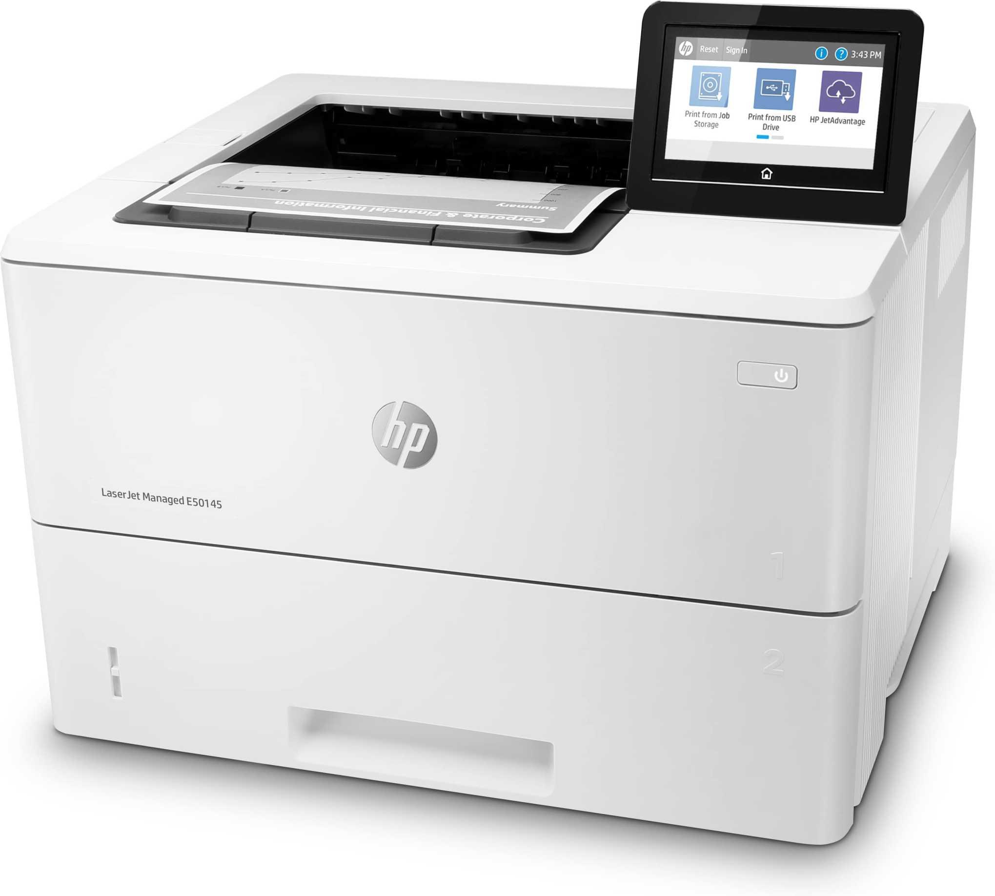 Impresora HP LaserJet Managed E50145DN