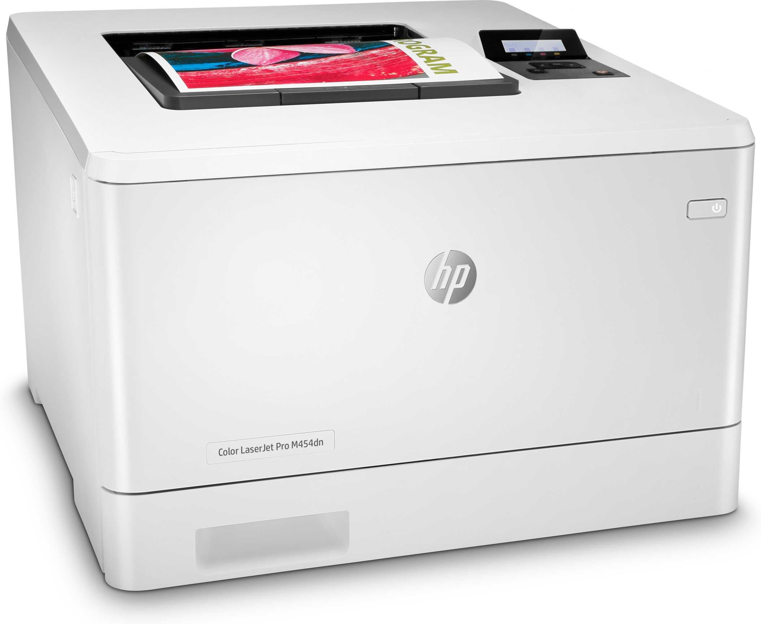 Impresora HP LaserJet Pro Color M454DN