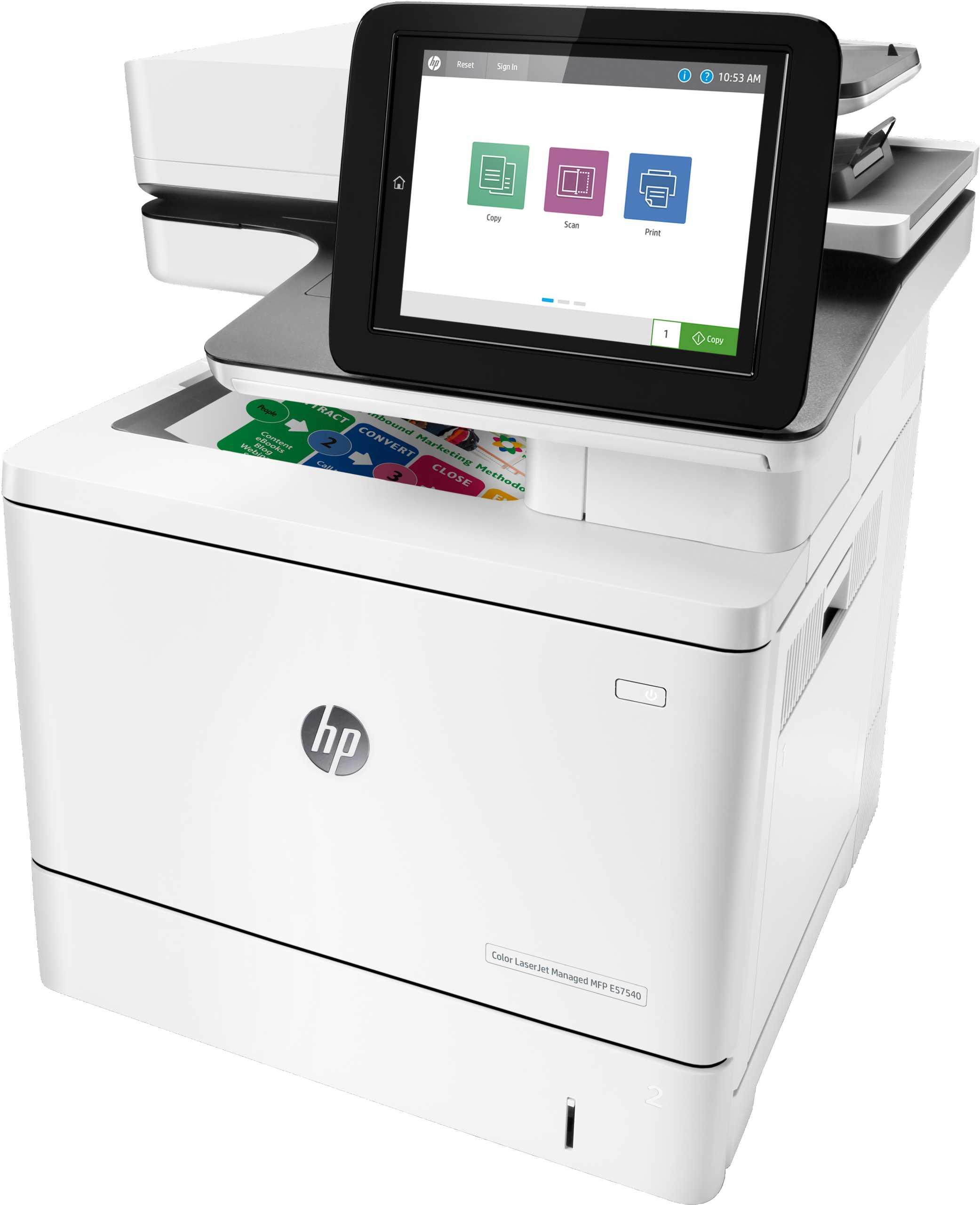 Impresora multifunción HP LaserJet Pro E57540DN