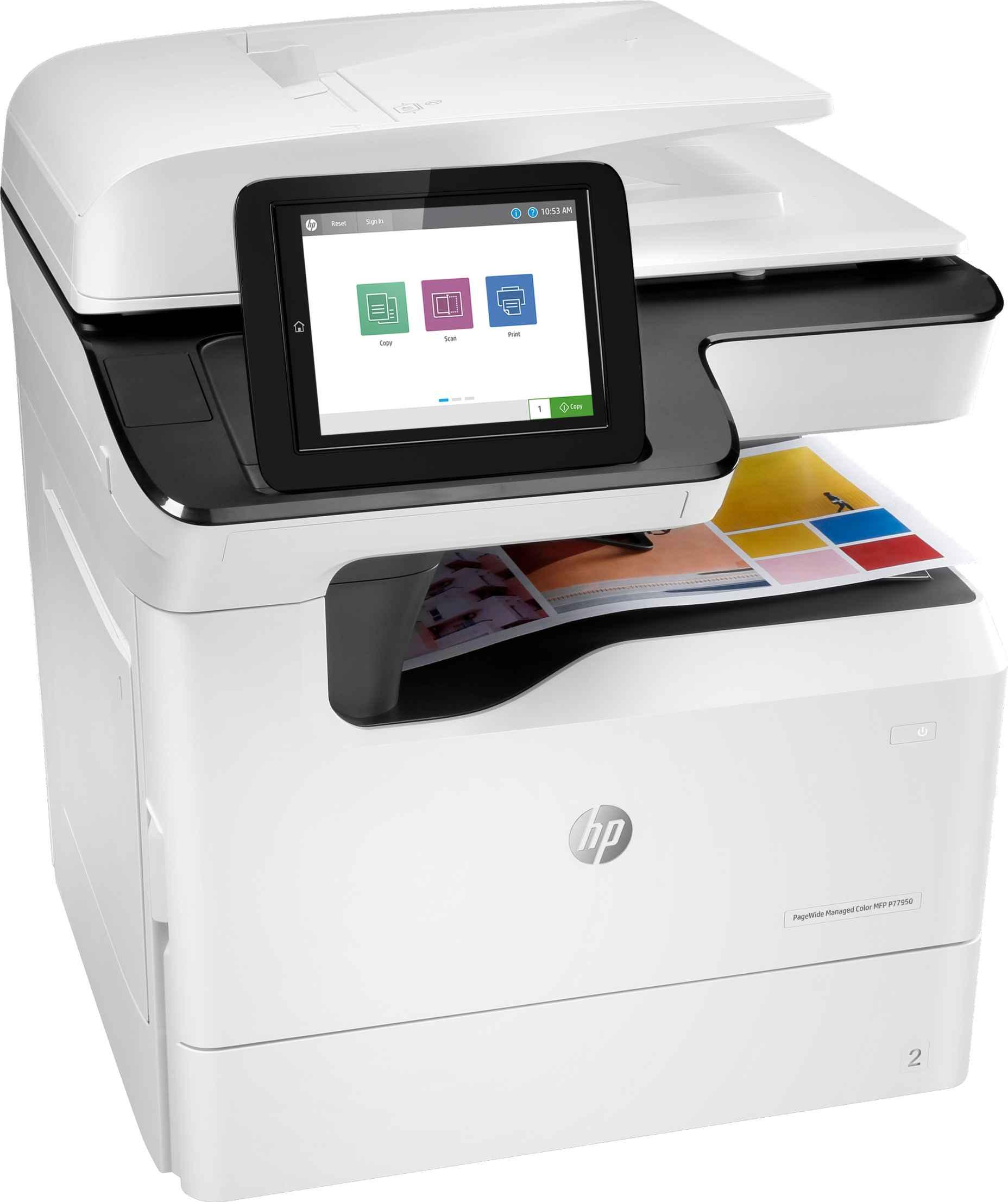 Impresora multifunción HP PageWide Managed Color P77950DN