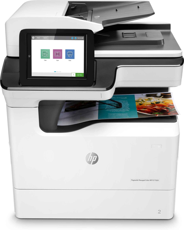 Impresora multifunción HP PageWide Managed Flow Color E77660Z