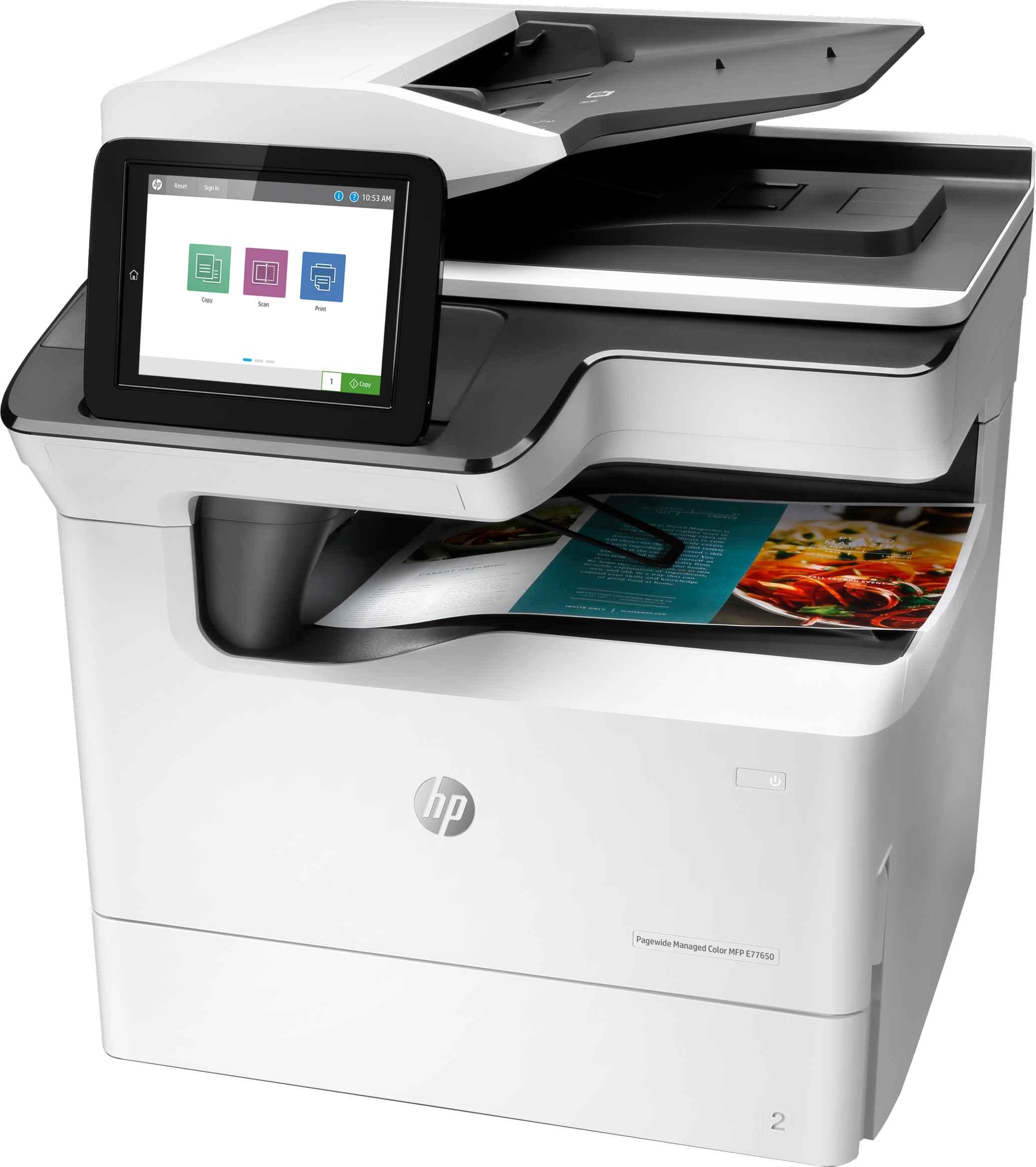 Impresora multifunción HP PageWide Managed Flow Color E77660Z_2