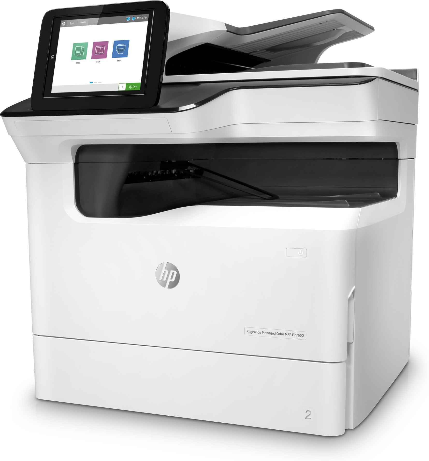 Impresora multifunción HP PageWide Managed Flow Color E77660Z_3