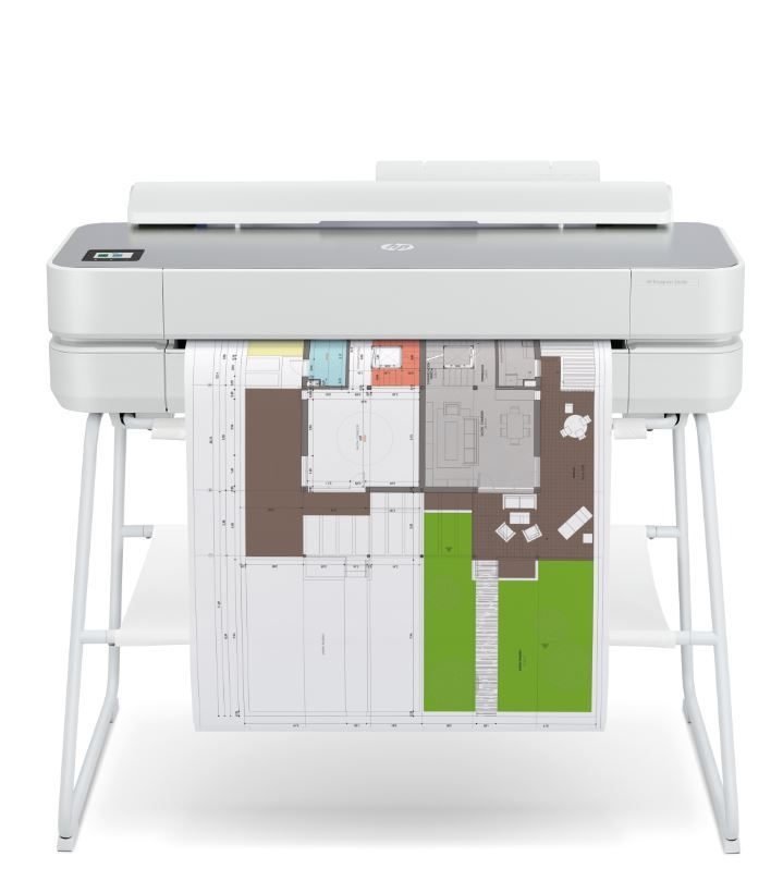 Impresora plotter HP DesignJet Studio de gran formato (hasta A1) de 24 pulgadas