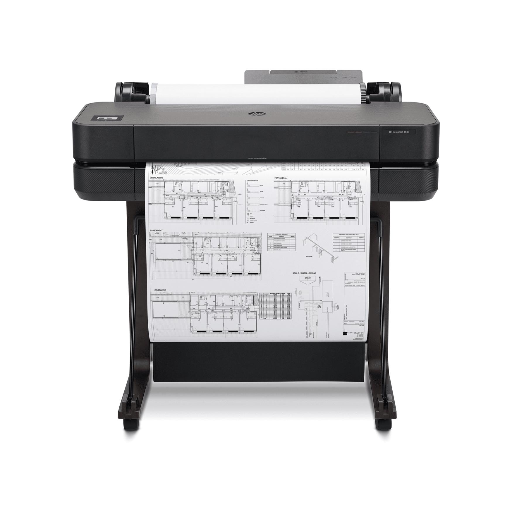 Impresora plotter HP DesignJet T630-24