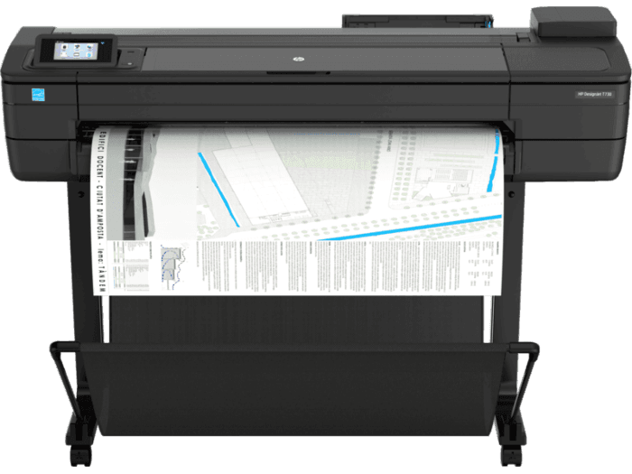 Impresora HP DesignJet T730 de 36 pulgadas