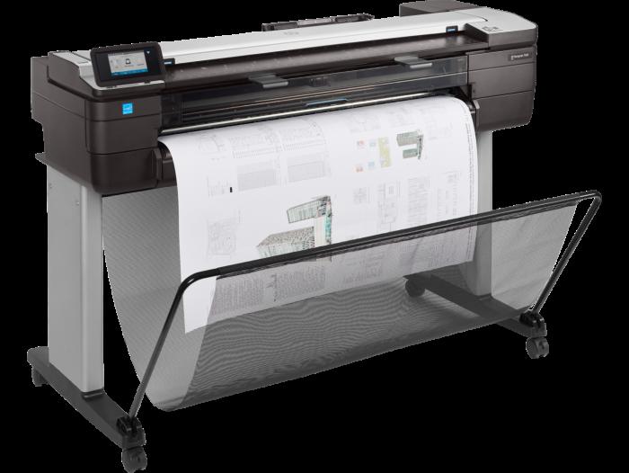 Impresora HP DesignJet T830 multifunción de 24 pulgadas