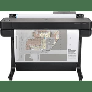 Impresora plotter HP DesignJet T650 de gran formato (hasta A1) de 36 pulgadas